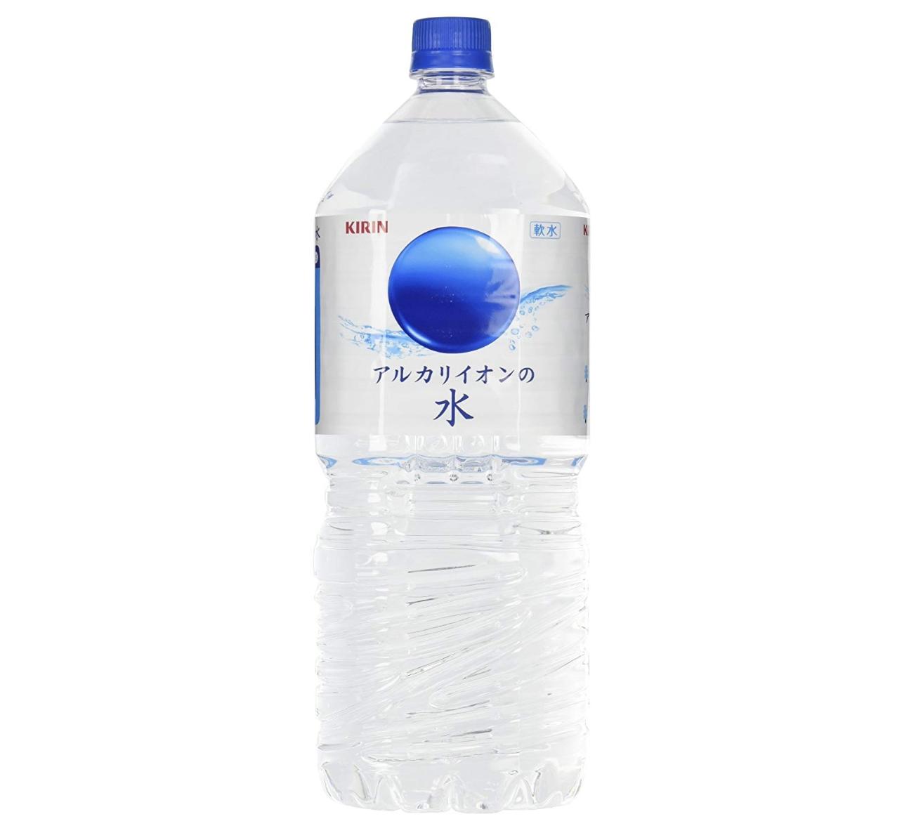 キリンアルカリイオンの水