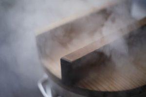 湿度 鍋の蒸気